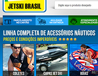 Layout E-commerce Jetski Brasil
