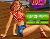 """Online Slot machine for SALE - """"Bowling"""""""