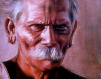 Portraits - Oil on Canvas & Pencil
