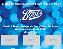 Scratch-Off Design for Boots USA