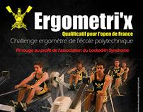 Affiche - Ergometri'x - Polytechnique - France