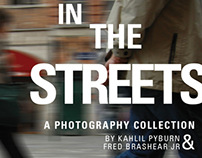 """In the Streets"" Photo Show Flier"