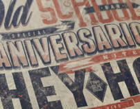 ANIVERSARIO HEY HO + OLD SCHOOL BAR