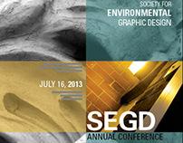 SEGD Conference Brochure