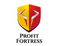 Profit Fortress Logo Design