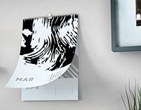 Calendar 2020 Graphic artist