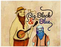 The Big Black & The Blue – Ilustração e lettering