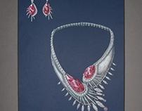 Crowned Crane Rendering
