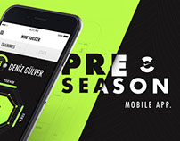 Nike // Pre-Season Mobile App. Design
