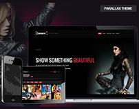 Camara - Parallax HTML Portfolio Theme