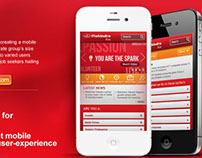 mahindra & mahindra corporate mobile site