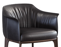 3D Furniture Modeling & Visualization of Poltrona Frau