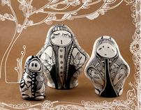 New Russian dolls