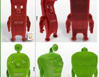 3D plush toys