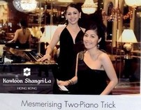 Mona & Gillian  @ The Kowloon Shangrila..