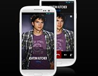 Visually Rich Caller ID Application Concept
