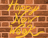 Happy New Week - |04-08-2013|