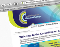 COMMITTEE ON CLIMATE CHANGE WEBSITE
