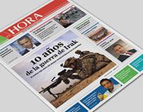 Redesign newspaper