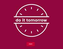 do it tomorrow - Website