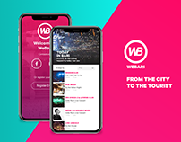 WeBari Travel App // Personal Project 2018