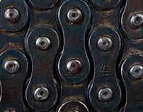 Interior photo. Metal.