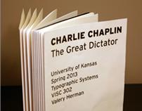 The Great Dictator Speech