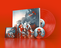Revolte Tanzbein CD/Vinyl Artwork