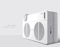 LM-YAN复古蓝牙音箱&收音机设计