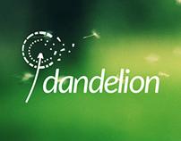Dandelion logotype
