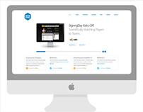 S2 Website Concept
