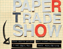 London 2010 Paper Trade Show Poster