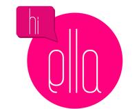 hi ella - logo design