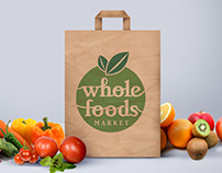 Whole Foods logo redesign