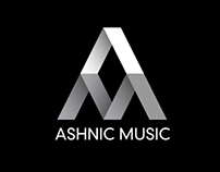 Ashnic Music - logo design