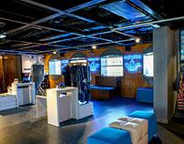 Concept Store Adidas Originals, Moscow.