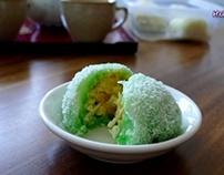 cách làm Bánh Bao Chỉthơm ngon– Snowball cake
