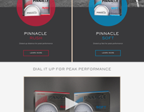 Pinnacle Golf Redesign