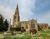 East Midlands village churches