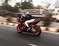 Honda CBR954RR | By Sourav Mishra