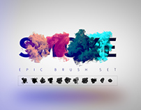 Smoke PNG Shapes Toolkit