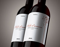 Wine label design | Nodo d'amore / Nilpeter