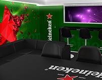 Suite Heineken Arena Cd. México