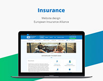 Insurance Aliance/Web design/UI/UX