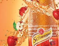 Schweppes Apple Poster