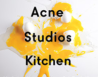 Acne Studios Kitchen - Brand Extension
