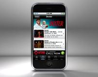 Showtime iPhone App - Dexter/Californication Spot