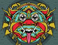 Indonesian/Bali mask
