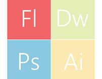 Adobe Metro style icons