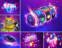 Visual Marketing Design - PartyCasino.com